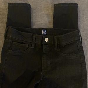 Gap Black Favorite Jeggings in Size 27T